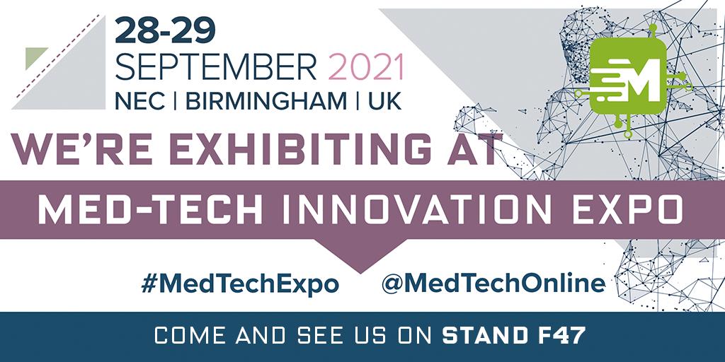 OGM exhibiting at Med-Tech Innovation in September